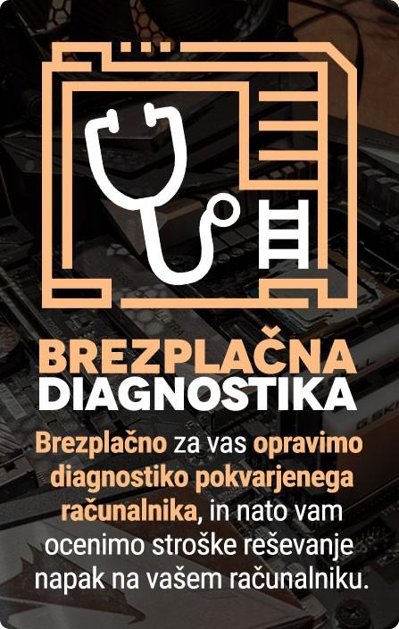Brezplacna Diagnostika Racunalnika