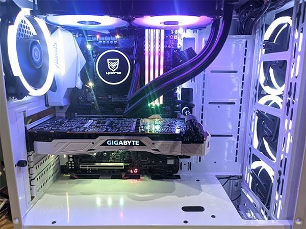 1080ti Refreshed PC Računalnik Build