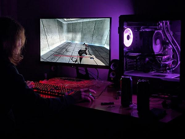 2080 Ti Gaming Racunalnik z Portal
