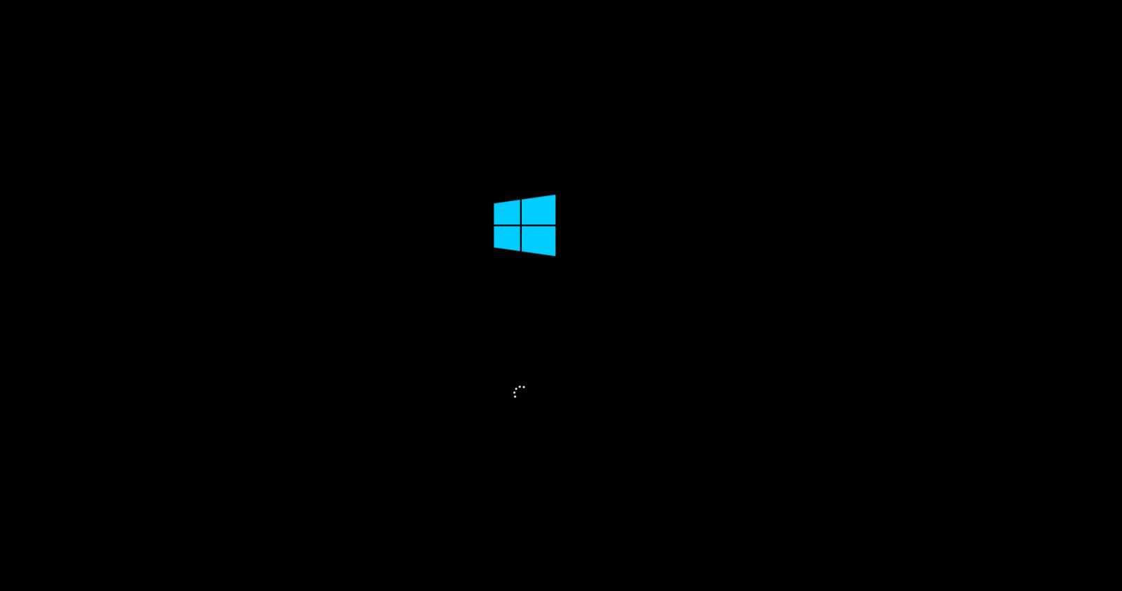Začetek namestitev okolja Windows 10