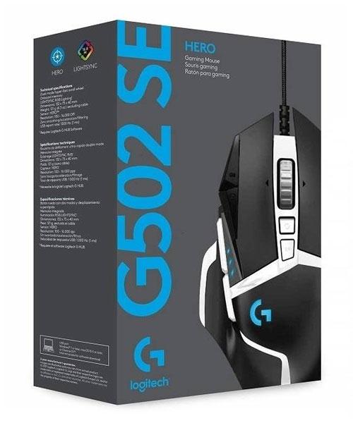 Logitech G502 Special Edition Hero Gaming MIska Skatla