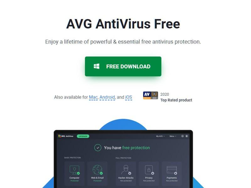 Brezplacni Antivirusni Program AVG Antivirus