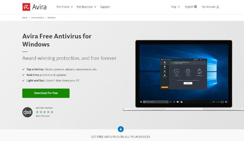 Brezplacni Antivirusni Program Avira Antivirus