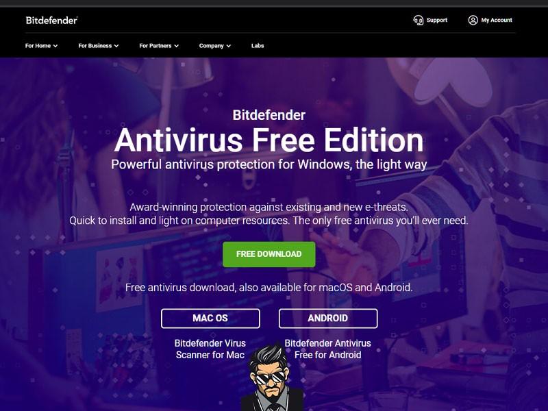 Brezplacni Antivirusni Program Bitdefender