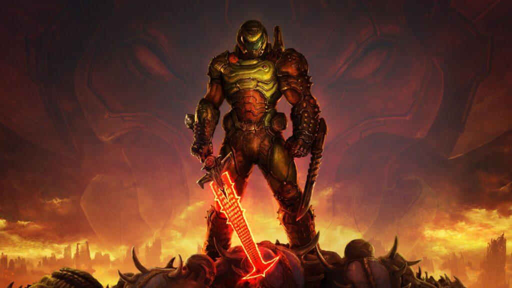 Doom Eternal Ozadje za Racunalnik 4k